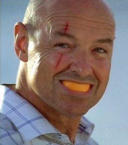 john locke eating an orange