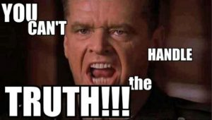 jack nicholson you can't handle the truth
