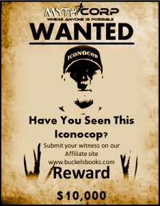 iconocop wanted poster